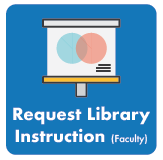Link to faculty library instruction request form.