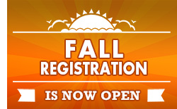 Fall Registration 2014 is now open!