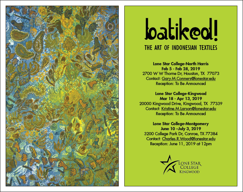 Batiked! The Art of Indonesian Textiles