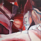"INTERVAL 2: All one � The Gift of Intentional Solitude 40"" x 40"""