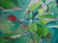 "INTERVAL 5: Flamenco Tulip � Healing Nature 30"" x 40"""