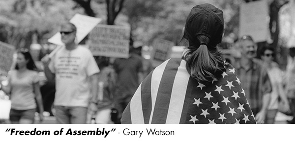 """Freedom of Assembly"" by Gary Watson"