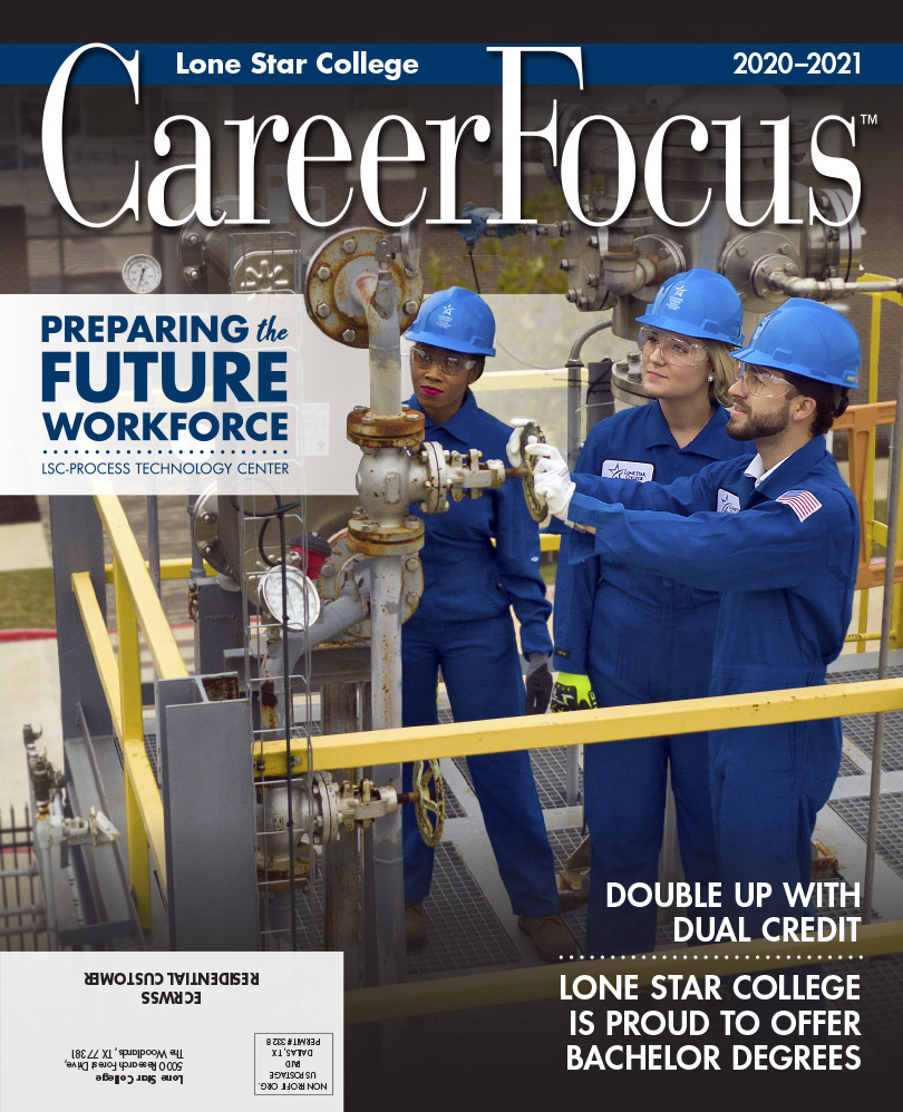 Career focus magazine cover