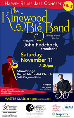 Kingwood Big Band to perform with guest trombonist