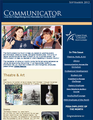 Communicator Employee Newsletter