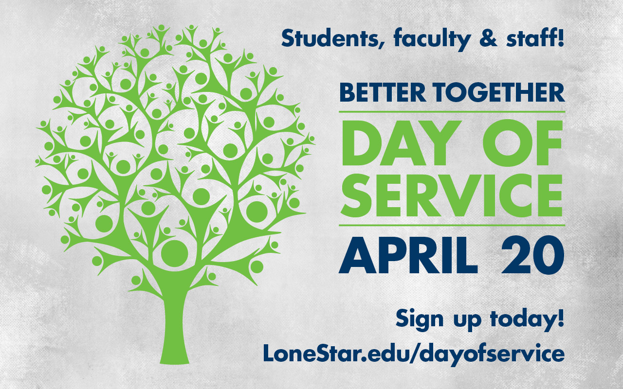 Save the Date: Better Together Day Of Service; April 20, 2018