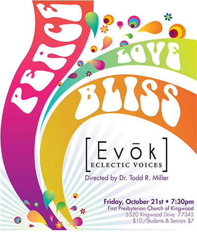 Evok to instill peace, love and bliss