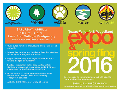 Expo information flyer