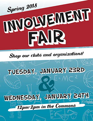 Spring 2018 Involvement Fair