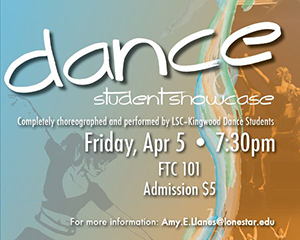 LSC-Kingwood Invites Public to Dance Concert