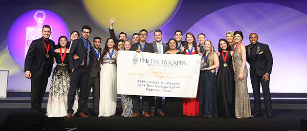 LSC-CyFair PTK wins award
