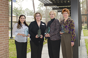 LSC-Kingwood announces staff excellence winners