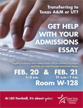 Get Helpd With Your Admissions Essay