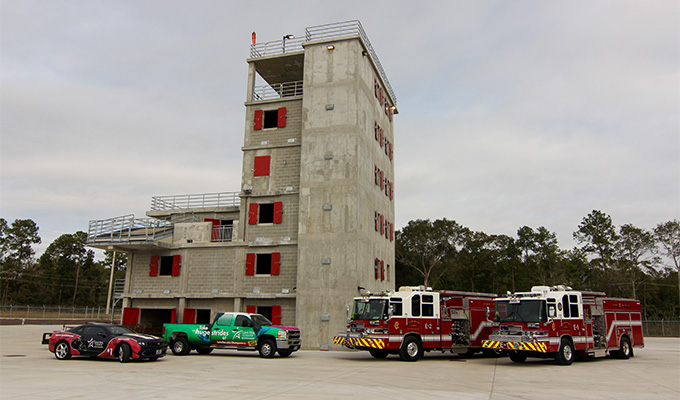 New City of Conroe Fire Training Facility