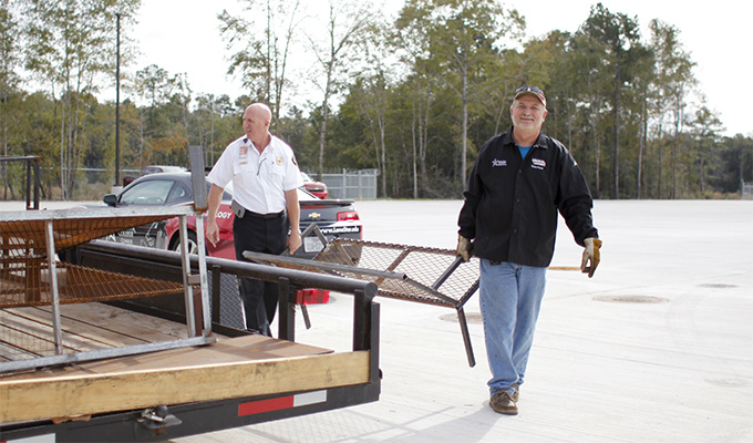 Lone Star College Conroe Center Builds And Donates Furniture For Fire  Training Facility