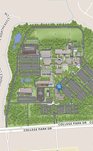 Campus Wayfinding Map