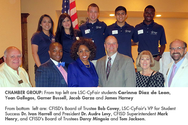 S.O.A.R. Leaders attend Chamber of Commerve luncheon