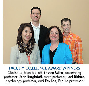 Lone Star College-CyFair�s Faculty Excellence Award winners