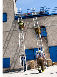 Fire Academy training