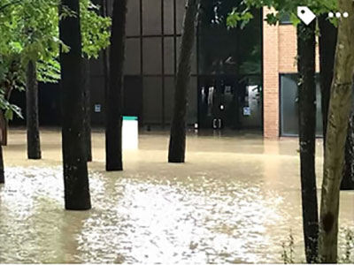 LSC-Kingwood received major flooding as a result of Hurricane Harvey.