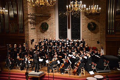 "Chorale, orchestra presents ""Messiah"""
