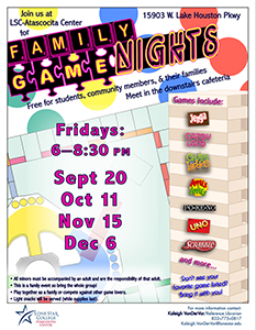 Play Games at LSC-Atascocita Center