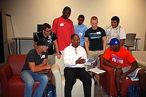 Men�s Center Helps Students Accomplish Goals