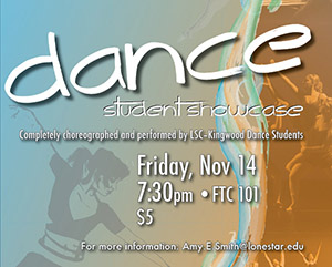 Lone Star College-Kingwood to Hold Dance Student Showcase