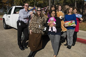 LSC-Kingwood Sponsors Toy Drive for HAAM and Mission Northeast