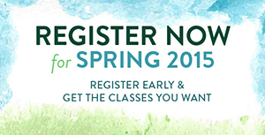 Register for Spring 2015 Classes at Local Community Colleges