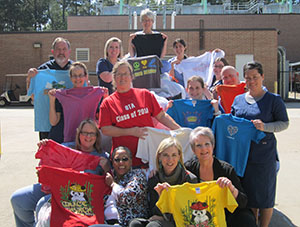 LSC-Kingwood OTA Students Collect Shirts for Nicaragua