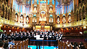 Kingwood Chorale, music students sing in Eastern Canada