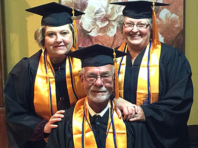 LSC-Kingwood educates family's three generation