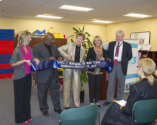 Lone Star College-Kingwood held a ribbon cutting ceremony for KidCare on Feb. 28