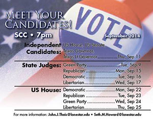 LSC-Kingwood Invites Community to Election-Related Events