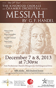 "Kingwood Chorale, Orchestra to Present ""Messiah"""