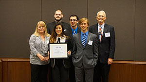 College Students Win First Place at National Competition