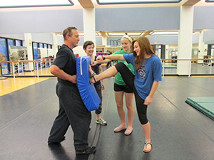 LSC-Kingwood Self-Defense Class Draws Mothers and Daughters