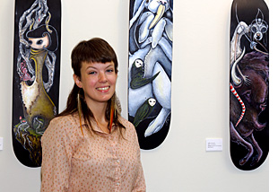 Jessica Rice and her paintings