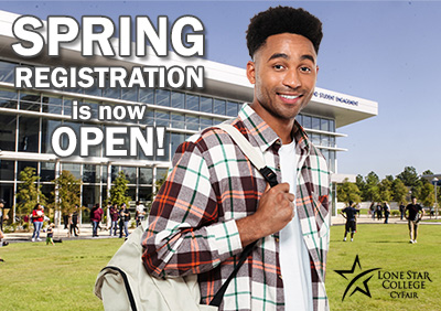 Spring Registration is now open!