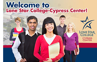 Welcome to Lone Star College-Cypress Center!