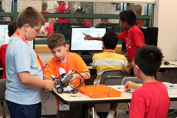 youth in robotics camp
