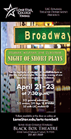 Lone Star College Tomball Night of Plays Poster