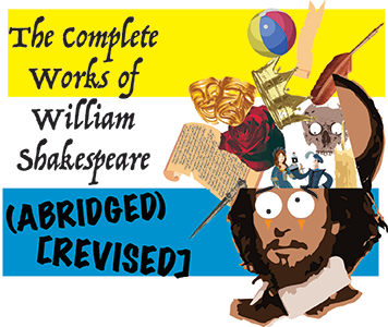 The Complete Works of William Shakespeare (Abridged)[Revised] - Shakespeare's Head Flipped open with zany stuff flying out
