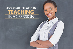 Associate Arts in Teaching - Information Session
