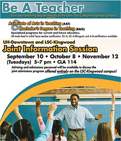 Be a Teacher Joint Information Sessions