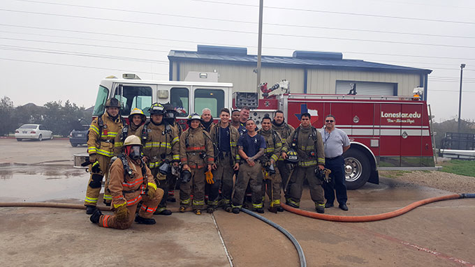 Fire Academy group photo