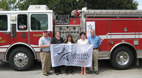 Fire Truck donated to LSC-CyFair