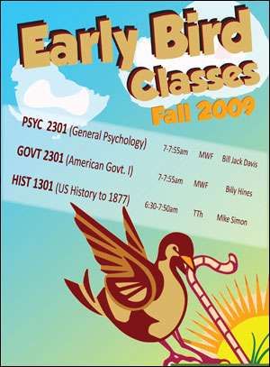 Early Bird Classes