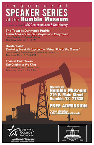 Speaker Series at the Humble Museum